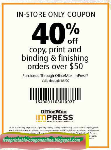 Office Depot and Office Max have merged into one company to bring shoppers low prices on office supplies, paper, ink & toner, technology, office furniture and more. Save up to 30% off your order with today's ferricd.cf coupon codes and printable coupons.