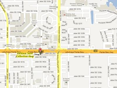 Dickson Niew map