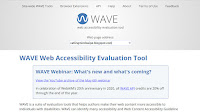 Web Accessibility Evaluation Tool (WAVE) tool (https://wave.webaim.org/)