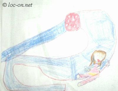 2005年7月 デンデンの絵日記+初めて選んだお気に入りだった思い出