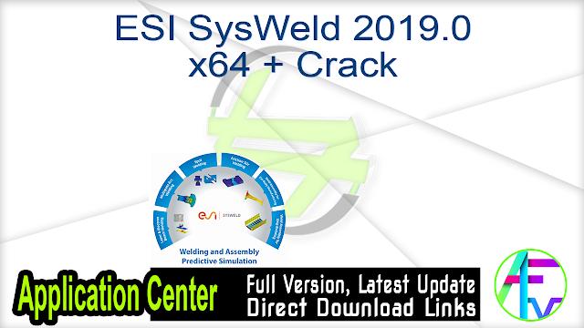 ESI SysWeld 2019.0 x64 + Crack