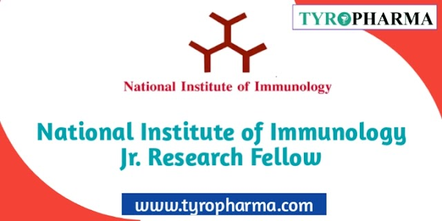 National Institute of Immunology Junior Research Fellow jobs