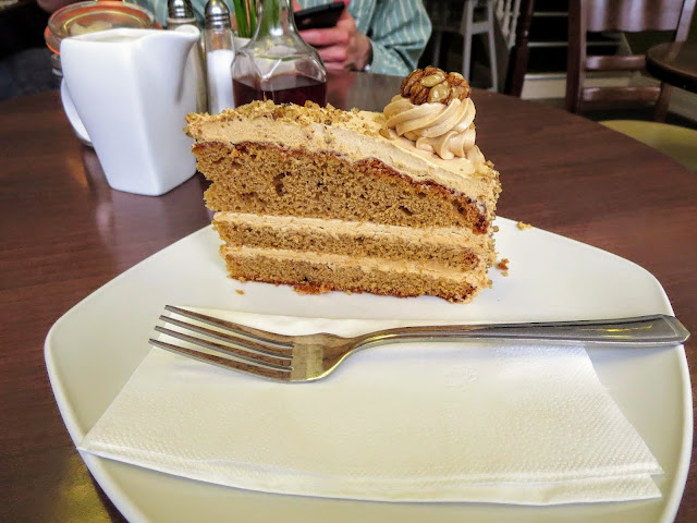 Walnut Cake at the Fig Tree in Kilkenny Ireland