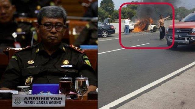 Tewas Kecelakaan Tunggal, Wakil Jaksa Agung Arminsyah Disebut Pacu Nissan GT-R hingga 220 Km/jam