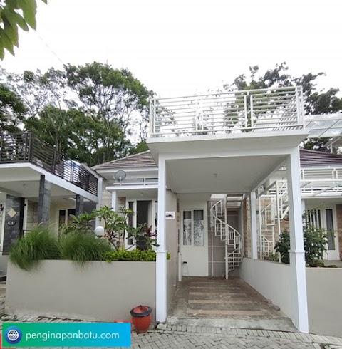 Villa  di Batu Modern - Kekinian dan View Bagus