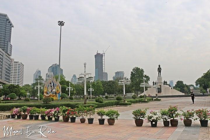 Rama VI en el Parque Lumpini