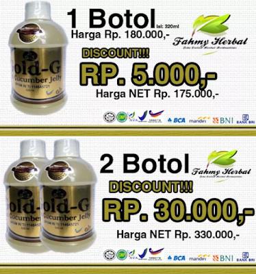 Obat Herbal Jelly Gamat Gold-g Multikhasiat