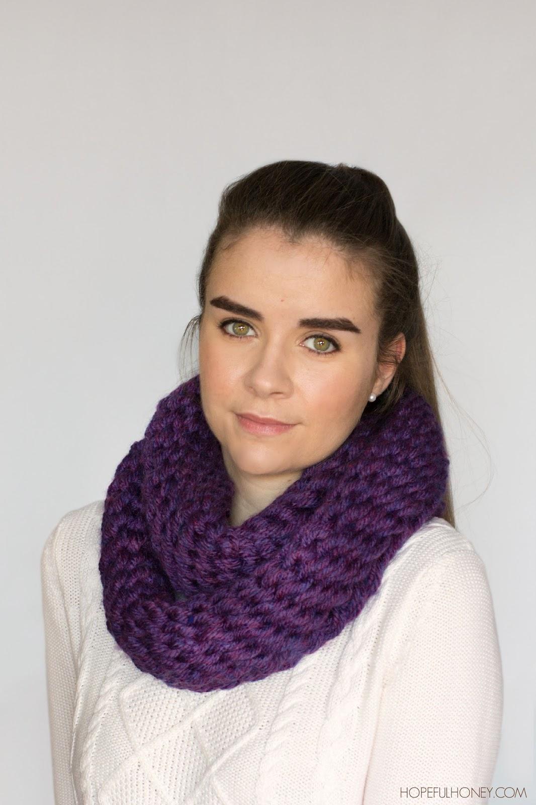Create scarf with finger crochet. – Craftbnb