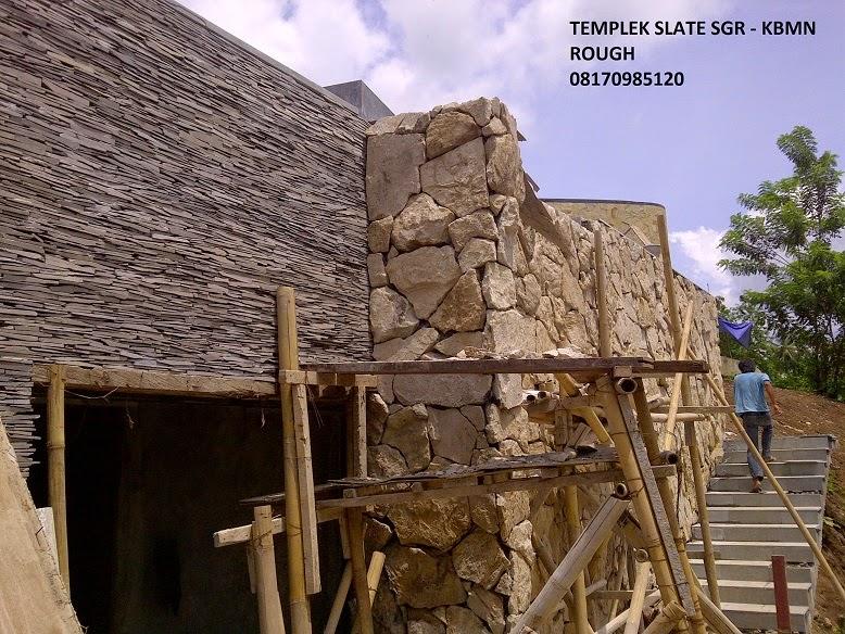 Batu Alam Pilah Templek (Slate Stone) Lombok