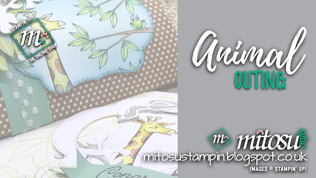 Stampin' Up! Animal Outing with Blended Seasons Bundle Card and Gift Ideas for OSAT Blog Hop