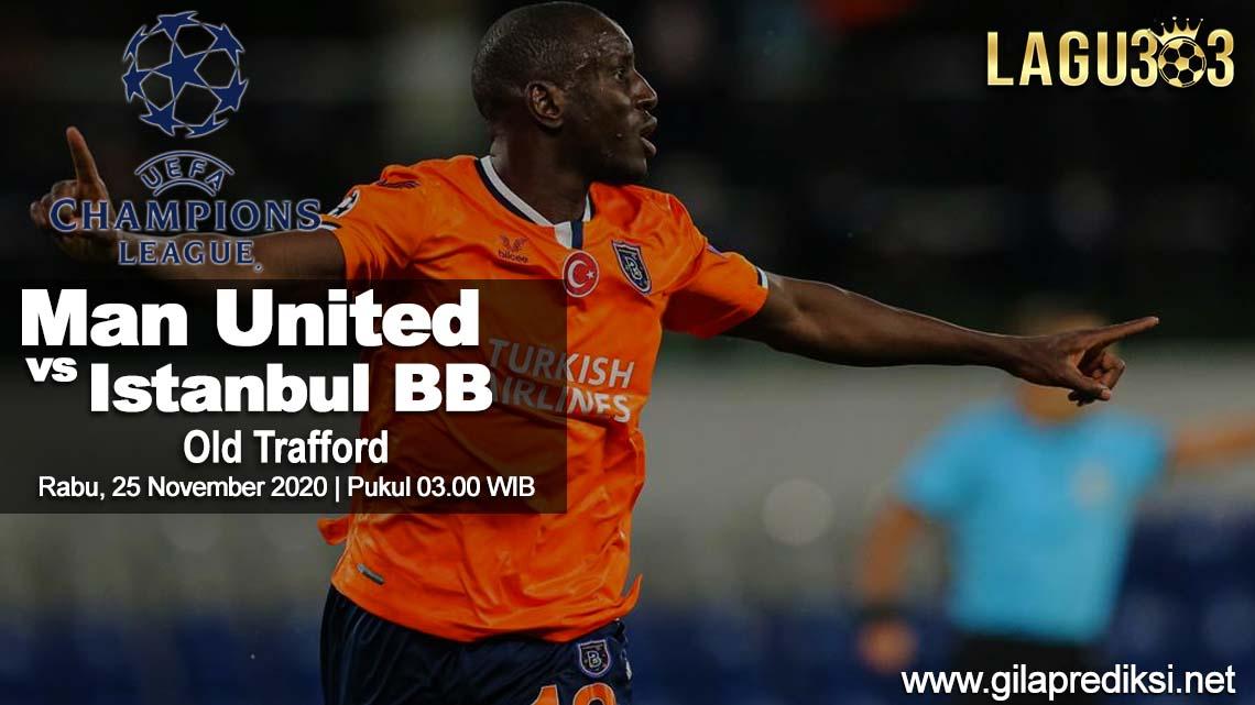 Prediksi Manchester United vs Istanbul Basaksehir 25 November 2020 pukul 03:00 WIB