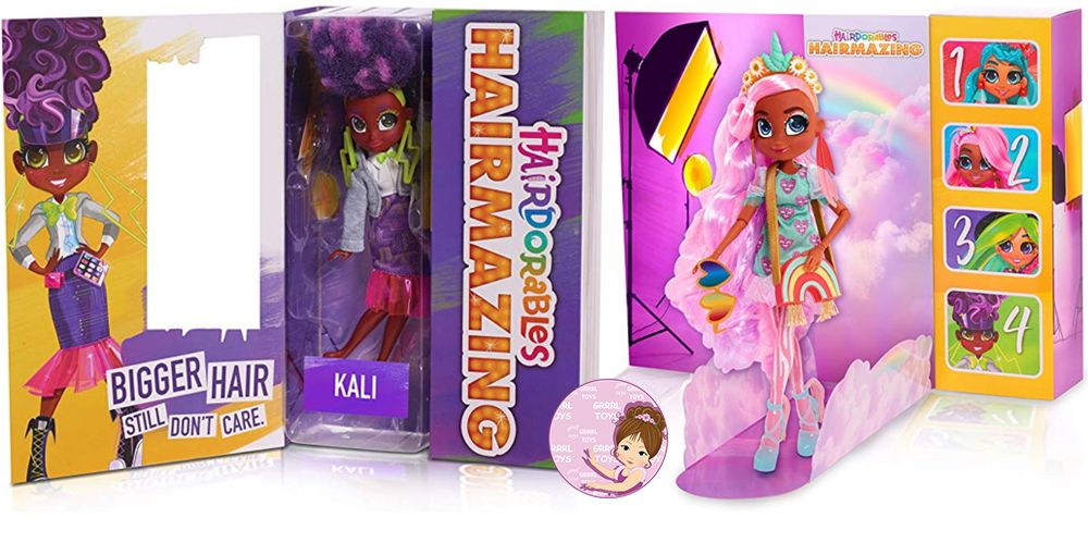 Kali and Willow Hairdorables Hairmazing fashion dolls series 1