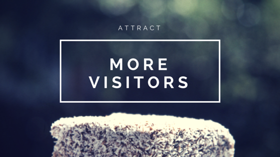 attract more visitors to site