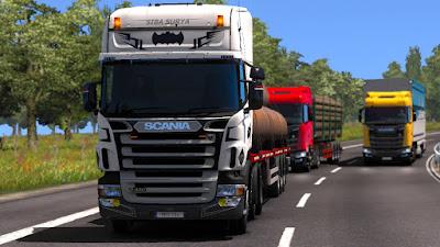 Skin siba surya primadona desa scania Scania RJL RS
