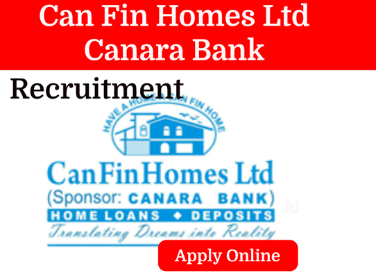 Junior Officer Recruitment in Can Fin Homes Ltd