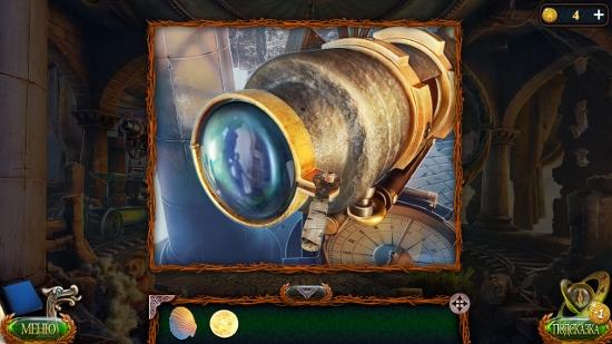 линза в телескопе и закрепляется гаечным ключом