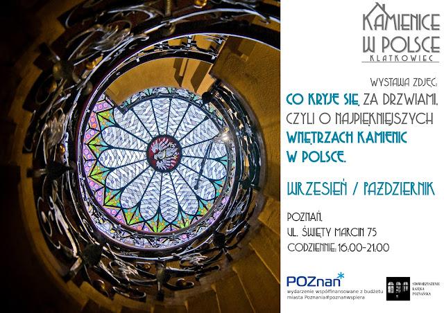 Co kryje się za drzwiami czyli o najpiękniejszych kamienicach w Polsce - wystawa fotografii w Poznaniu od 20 września 2020