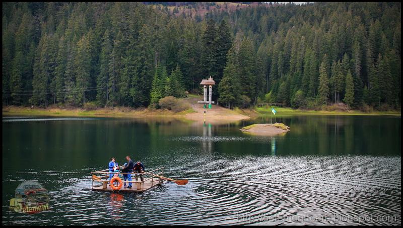 Озер Синевир 2016