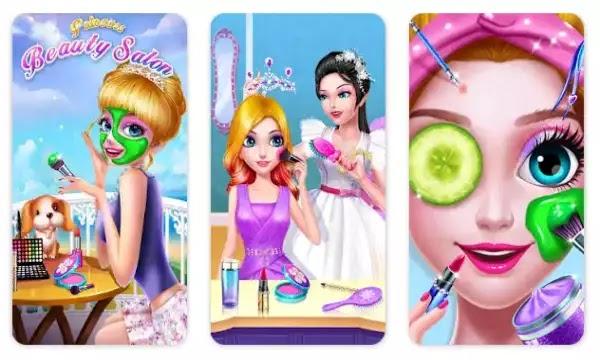 Princess Beauty Salon - Birthday Party Makeup