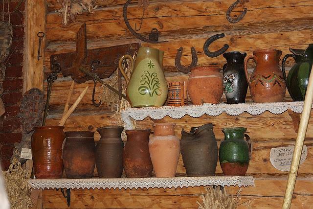 музей хлеба в Аглоне, керамика