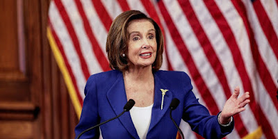 Nancy Pelosi floated the possibility of a minimum guaranteed income for people.