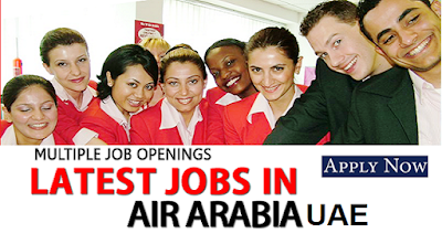 Jobs Vacancies at Air Arabia