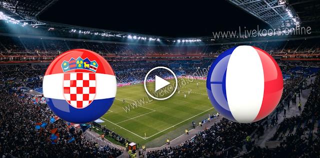 موعد مباراة فرنسا وكرواتيا بث مباشر بتاريخ 08-09-2020 دوري الأمم الأوروبية