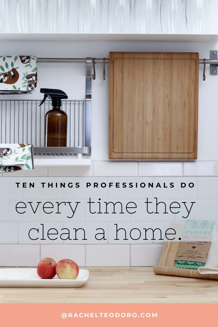 cleaning your home housekeeping tips