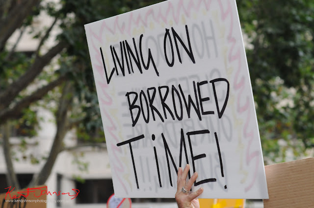 Sydney Climate Rally - 'Living On Borrowed Time'