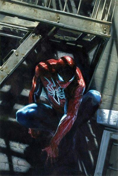 En All New All Different, Spiderman utiliza una armadura prodigiosa