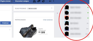 Como usar o chat no Facebook
