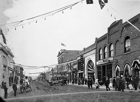 News Block 1912 2nd Street Medicine Hat Alberta