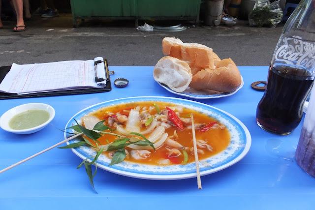 shell-dish 露店の貝料理