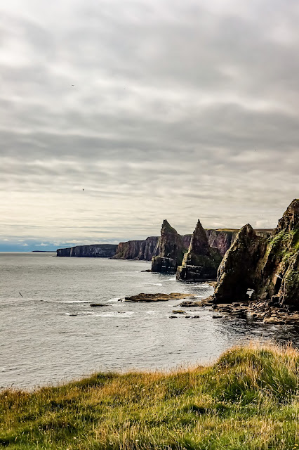 Scotland By Rail Part 3 - John O'Groats is inspiring, Duncansby Stacks, Caithness, Mandy Charlton Photographer