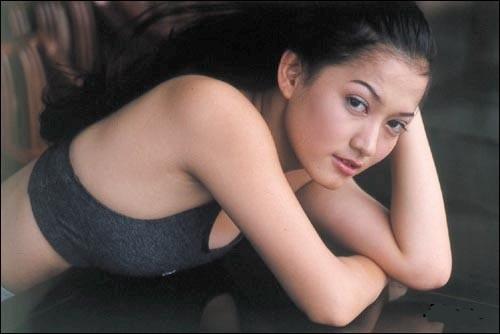 Sexy Lyra Virna Classic Indon Beauty Swim Suit Model