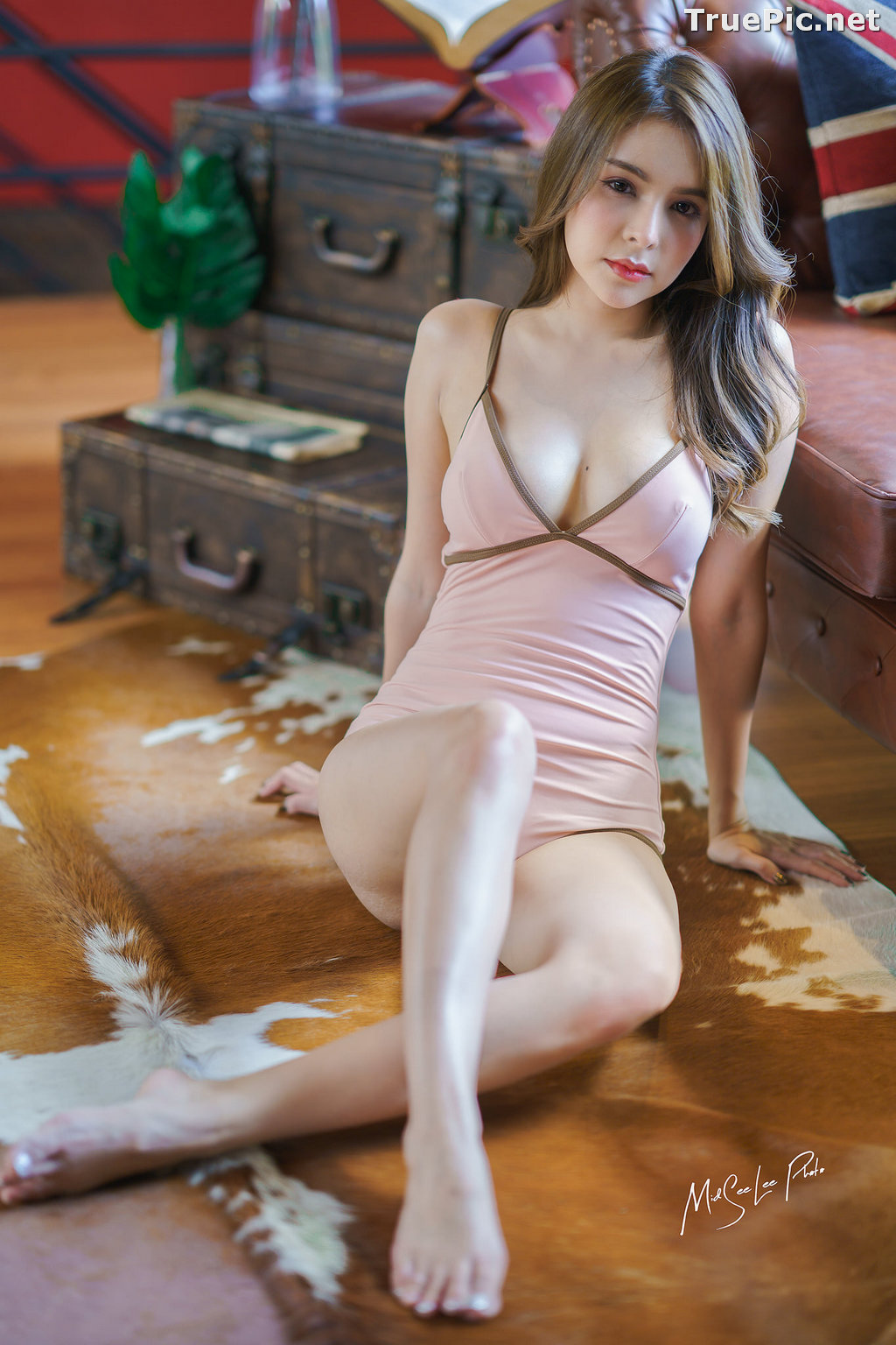 Image Thailand Model - Soithip Palwongpaisal - Sexy and Cute Monokini - TruePic.net - Picture-3