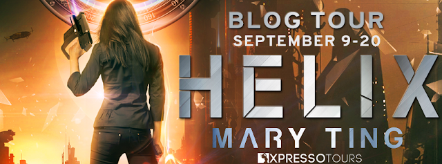 Helix by Mary Ting, blog tour by XpressoTours