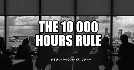 Peraturan 10000 Jam, Cara Menjadi Hebat