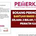 Borang Permohonan Bantuan RM100 Sebulan Selama 3 Bulan / Program Prihatin Kasih