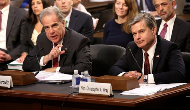 All the times Horowitz contradicted Wray — but nobody seemed to notice