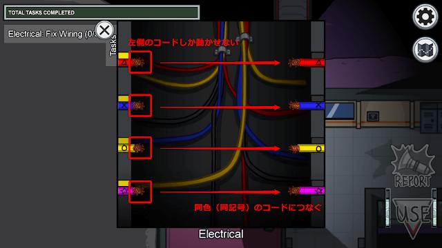 Fix Wiring(配線を修理する)説明画像