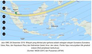 Waktu Gerhana Matahari Dimulai di Indonesia