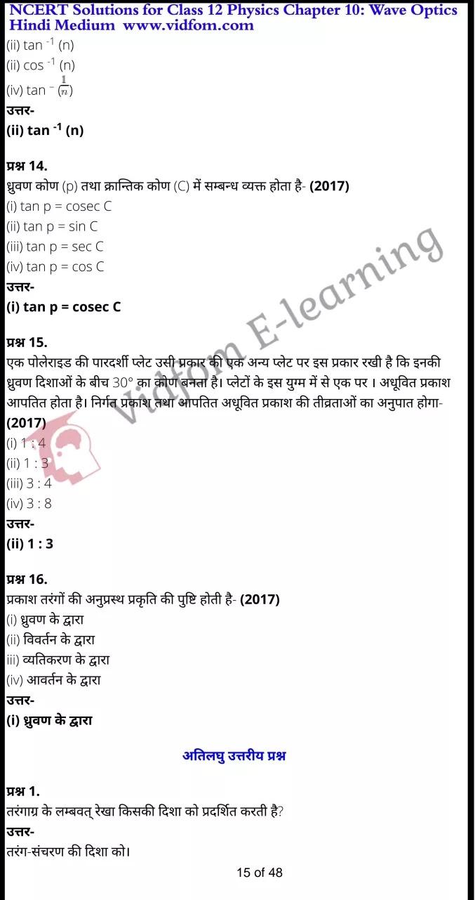 class 12 physics chapter 10 light hindi medium 15