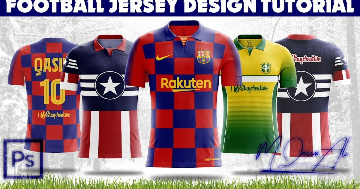 Download Photoshop Mockup Tutorial_How to Create Football Jersey in ...