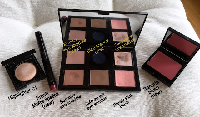 eye shadow and blush compacts