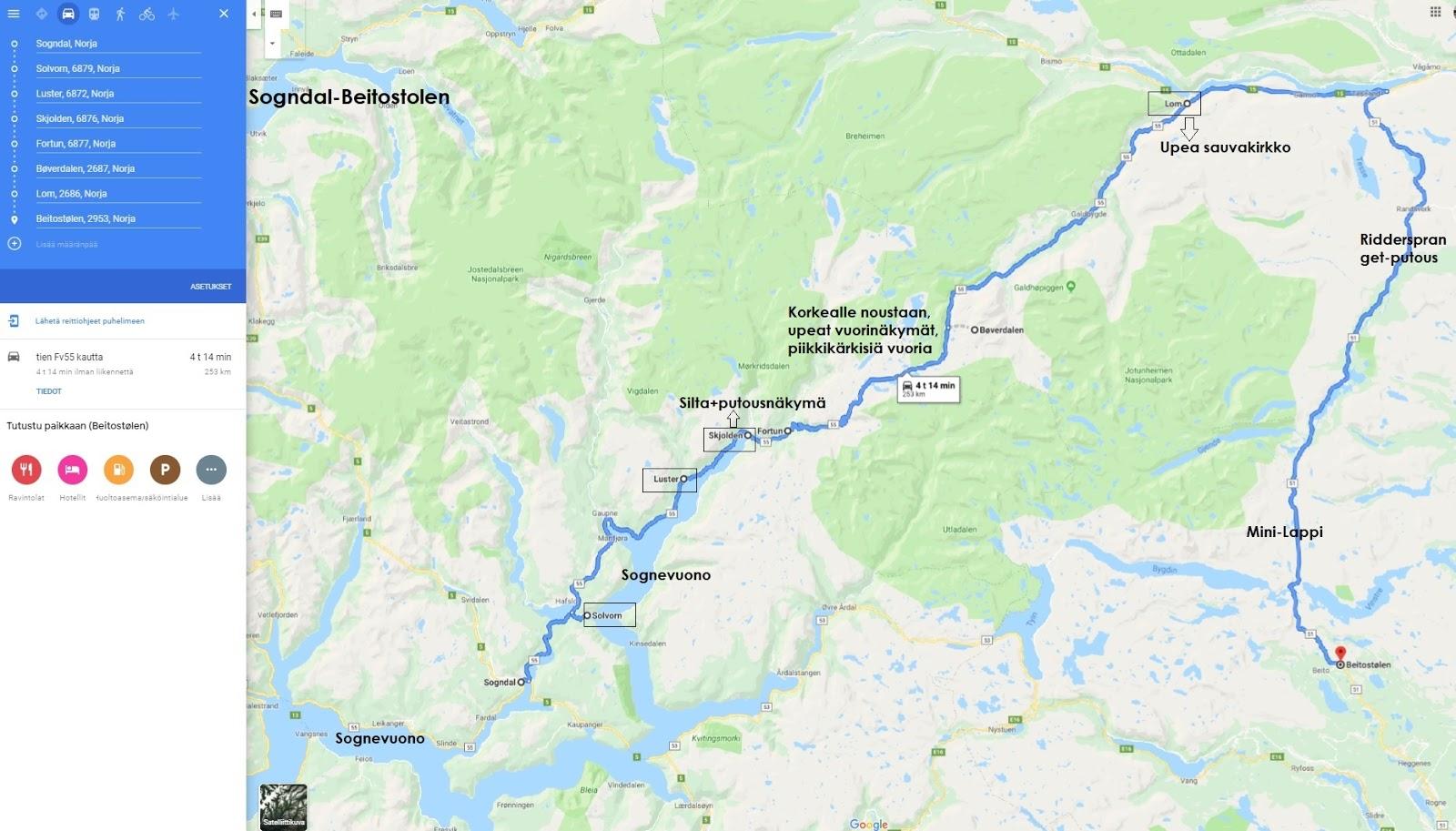Autolla Norjan Vuonoille 31 7 8 8 2019 Part 6 Sogndal Boverdalen