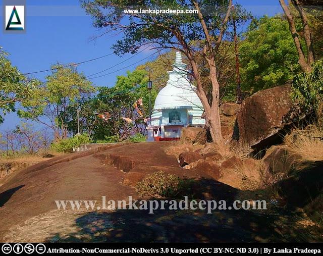 The Stupa of Piyangala Aranya Senasanaya, Ampara