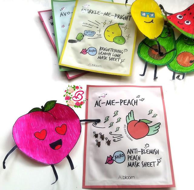 Ac-Me-Peach mask