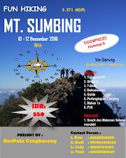 OT Pendakian Gunung Sumbing 2016