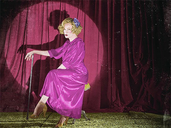 Jessica Lange as Elsa Mars in American Horror Story Freak Show Season 4 Episode 1 Monsters Among Us
